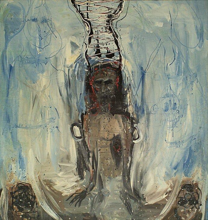 Мирослав Ягода, «Двойник неба», конец 1980-х – начало 1990-х