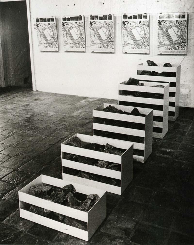 Роберт Смітсон. Не-місця, 1968. Взято з  мережі