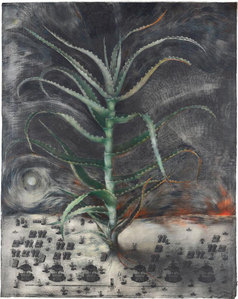 Павло Маков. Ніч (кольорова вкладка з Абракадабри), 2020