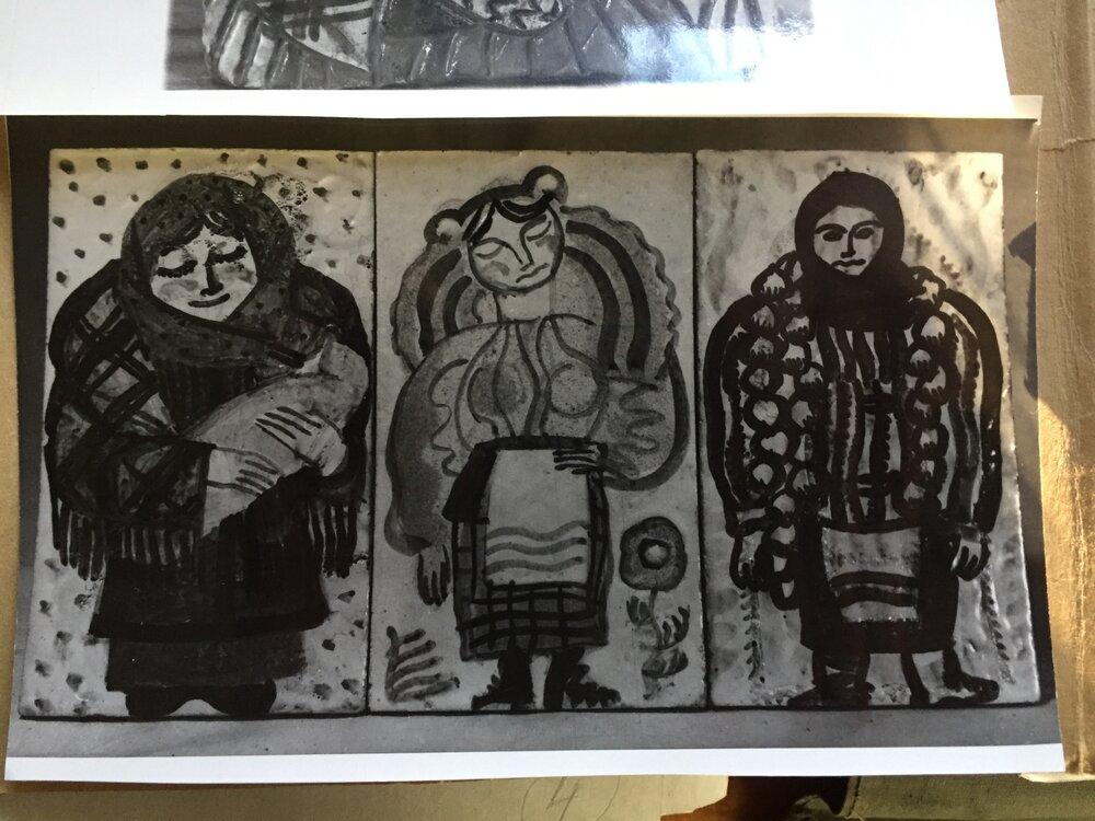 Кераміка Тетяни Яблонської. Фото з архіву НМДПМ