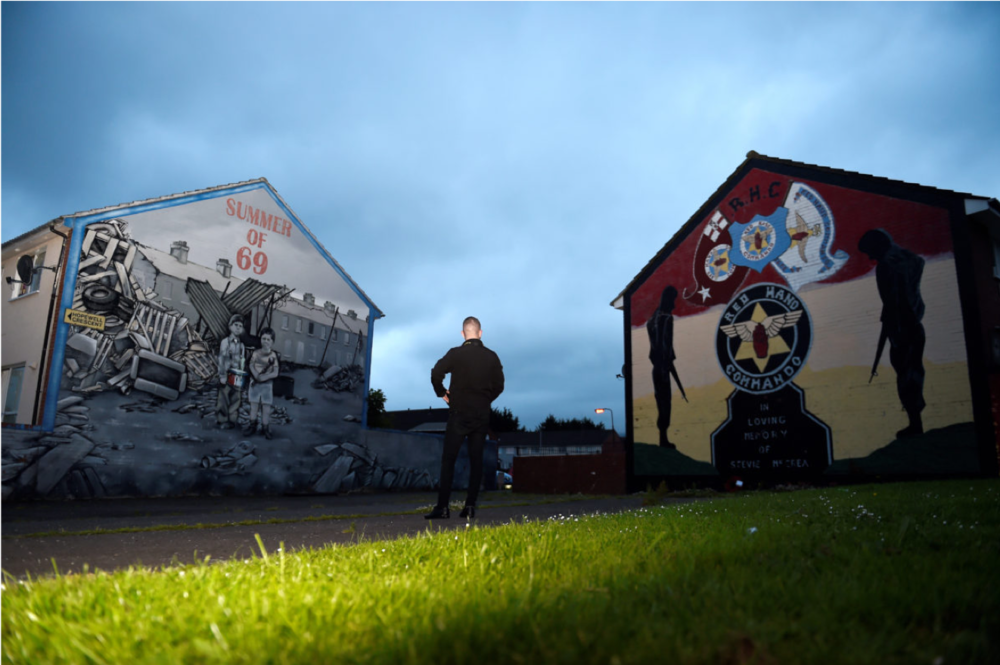 Зображення взято із сайту телеканалу Euronews ( https://www.euronews.com/2017/03/29/the-changing-faces-of-northern-ireland-s-murals )