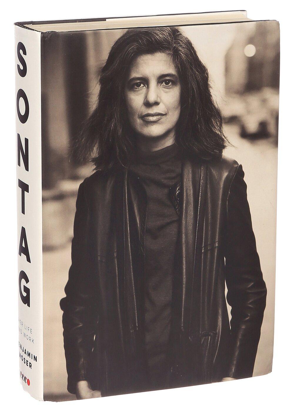 Обкладинка книжки Sontag: Her Life and Work. Зображення:  The New York Times