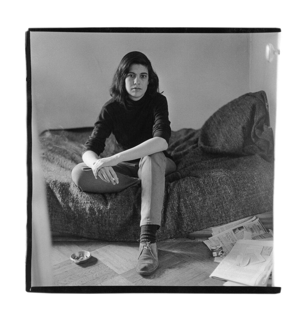 Сьюзен Зонтаґ, 1965 рік.  Фото : Діана Арбус