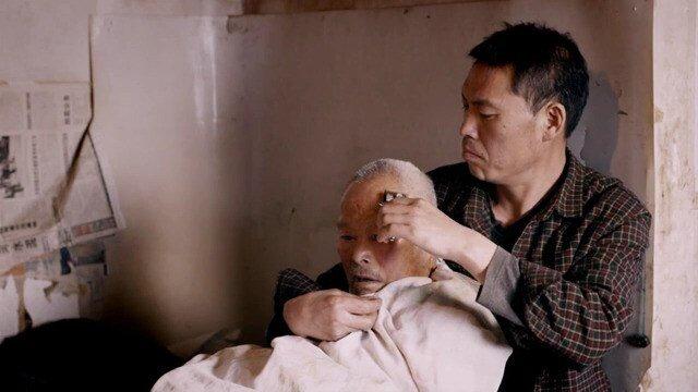 Кадр з документального фільму «мои стихи»