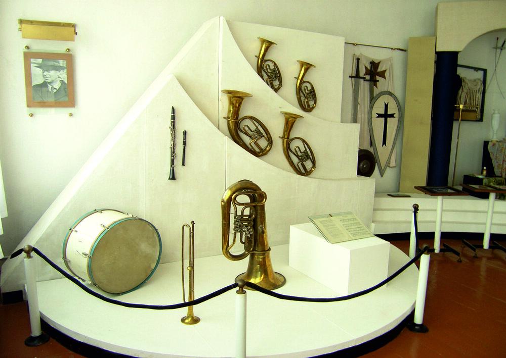 Експозиція музею до реконструкції 2011—2012 р.р. Світлина з фондів Меморіального музею Сергія Прокоф'єва
