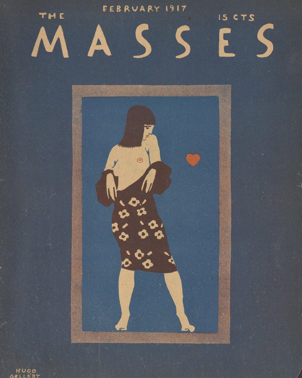 Обкладинка журналу «Маси» за 1917 рік
