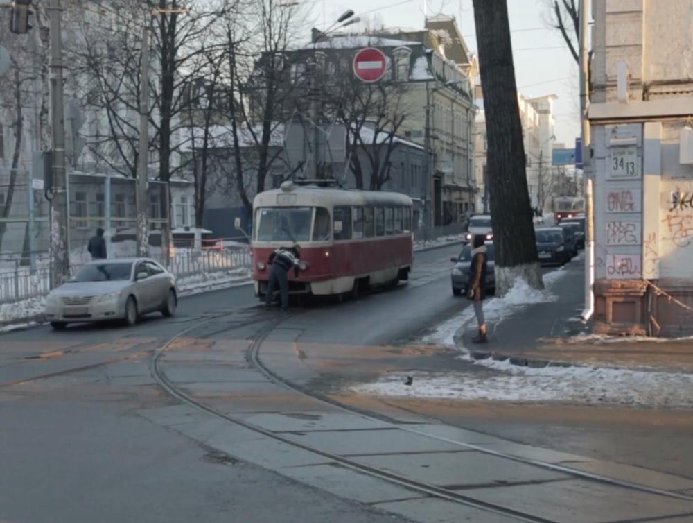 Кадр з фільму «Цвях», 2016 рік. Режисер: Філіп Сотниченко