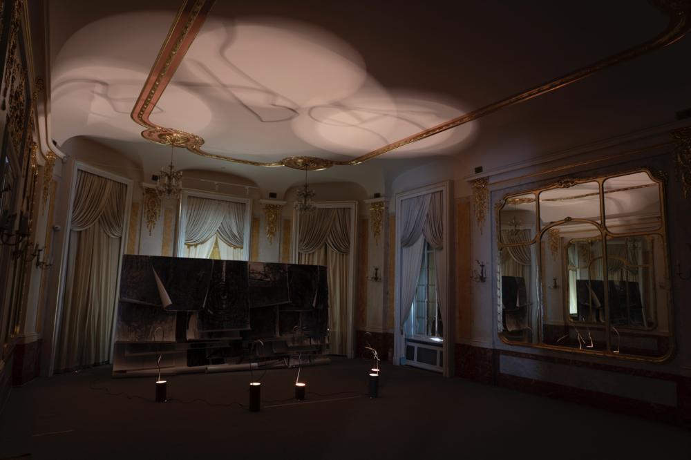 Палац Потоцьких (проєкти 2010 – 2020 р.р.) «Сховок для світла», 2010 – 2020 (Бальна зала)
