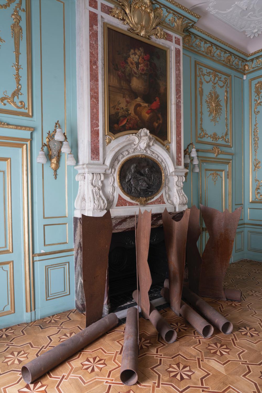 Палац Потоцьких (проєкти 2010 – 2020 р.р.): «Крила», 2010 (Блакитна зала)