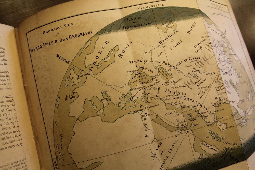Картографія Марко Поло. З архіву Zikawei у Шанхаї. Світлина: Ася Баздирєва