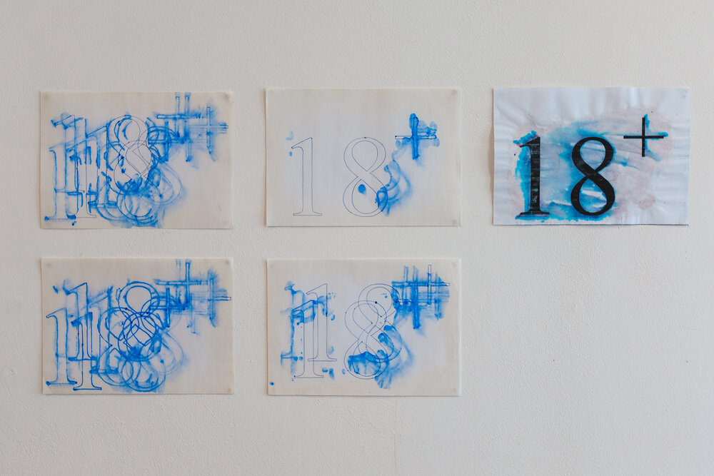 Фото з виставки надане галереєю «Артсвіт»