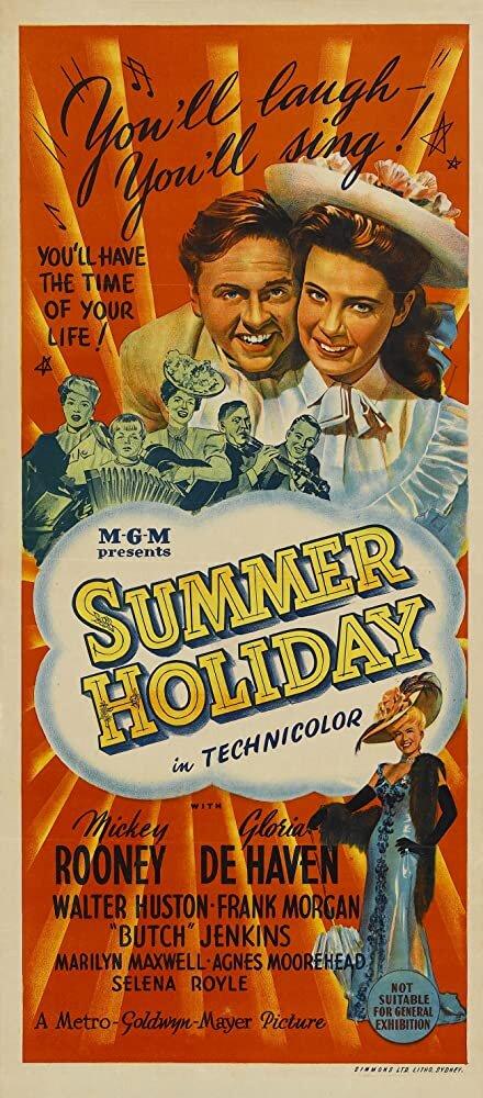 Постер до фільму «Літні канікули» (1948)