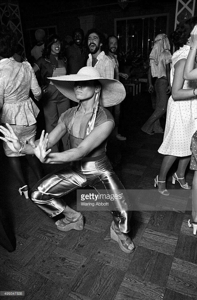 Популярна нью-йоркська дискотека Le Jardin (фотограф Waring Abbott)
