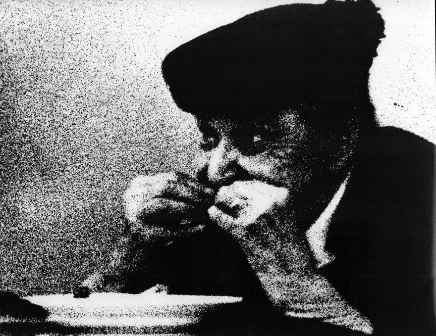 Тубалев Геннадий. Без названия. 1970-е, серебряно-желатиновая печать. Grynyov Art Foundation.