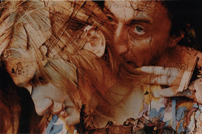 Олег Малеваный. Фреска. 1973, фотомонтаж. Grynyov Art Foundation.