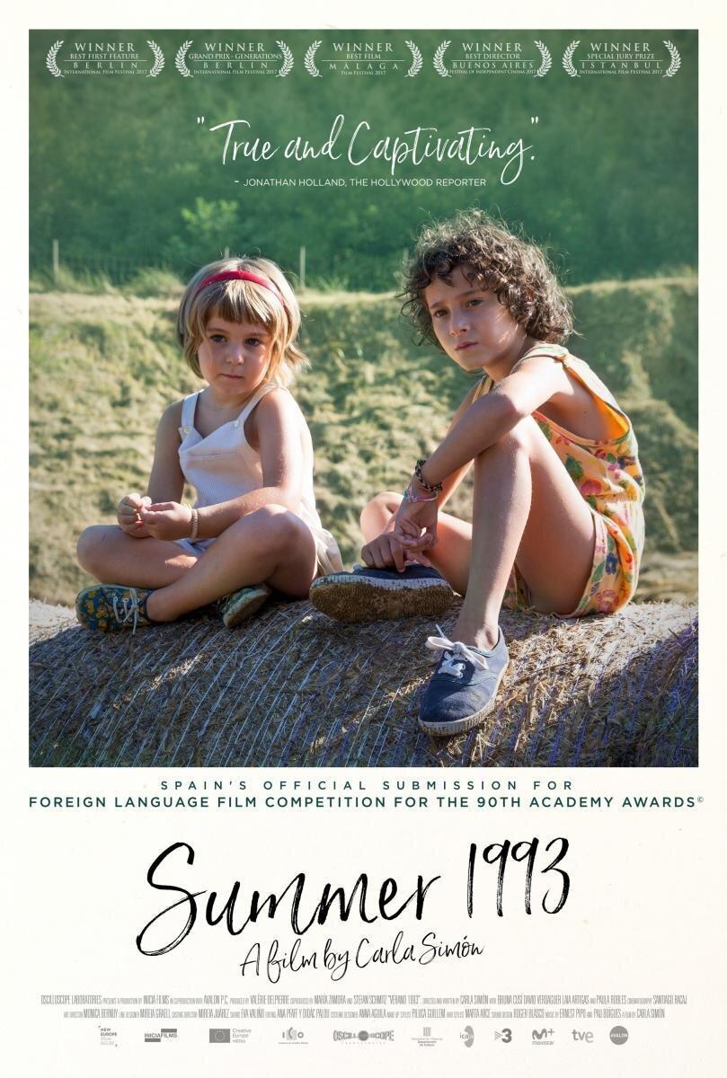Постер до фільму «Літо 1993». Джерело:  filmaffinity.com