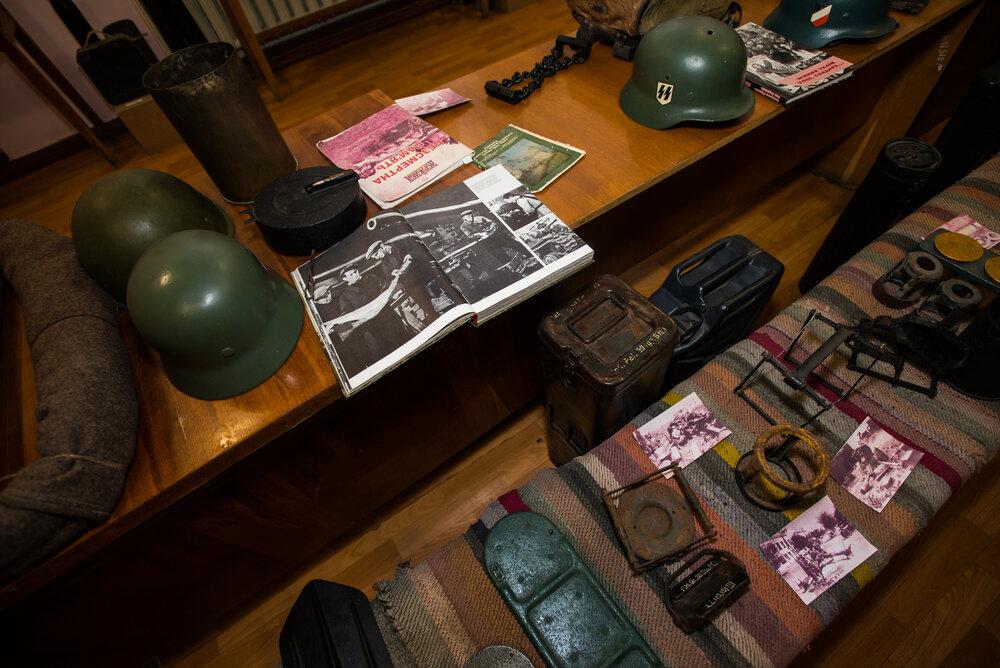 Фрагмент експозиції Новоукраїнського музею
