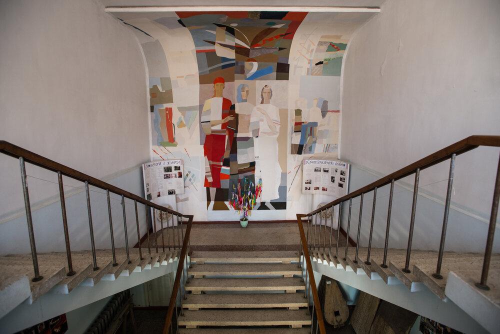 Декоративний розпис в інтер'єрі Татарбунарського краєзнавчого музею