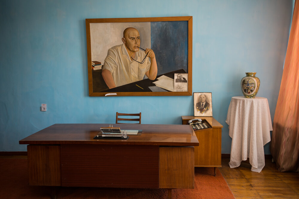 Меморіальна кімната Василя Тура в Татарбунарському краєзнавчому музеї