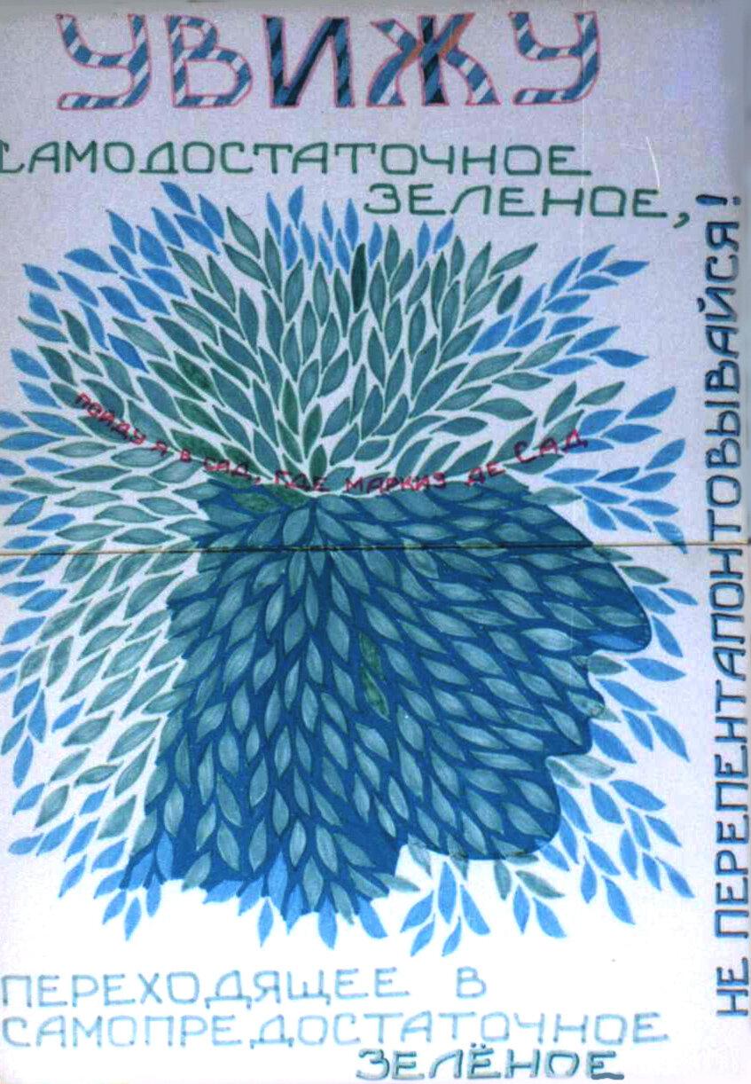 Сергій Ануфрієв, Леонід Войцехов, аркуші з папки «УВИЖУ», 1983