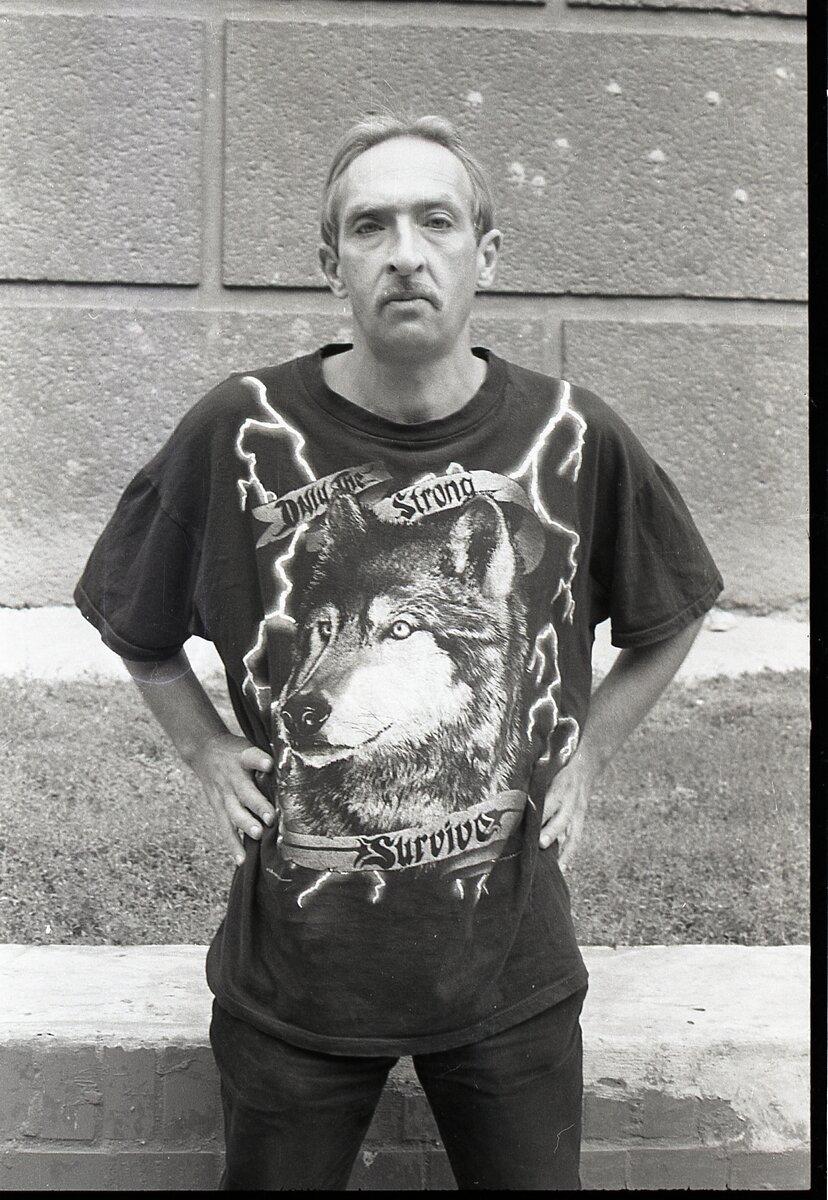 Леонід Войцехов. Автор: Олександр Шевчук (1990-і, Одеса)
