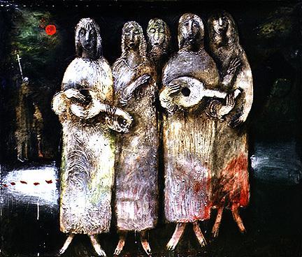 Валерія Трубіна. Нічний хор, 1989