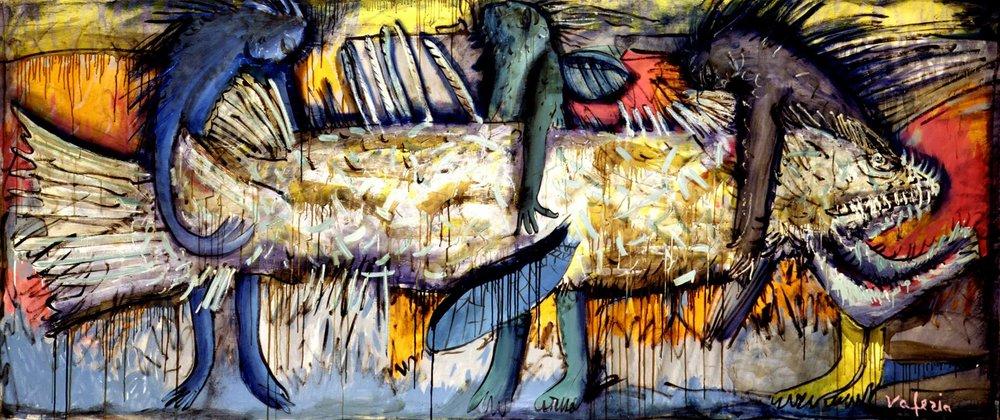 Валерія Трубіна. Улов, 1991