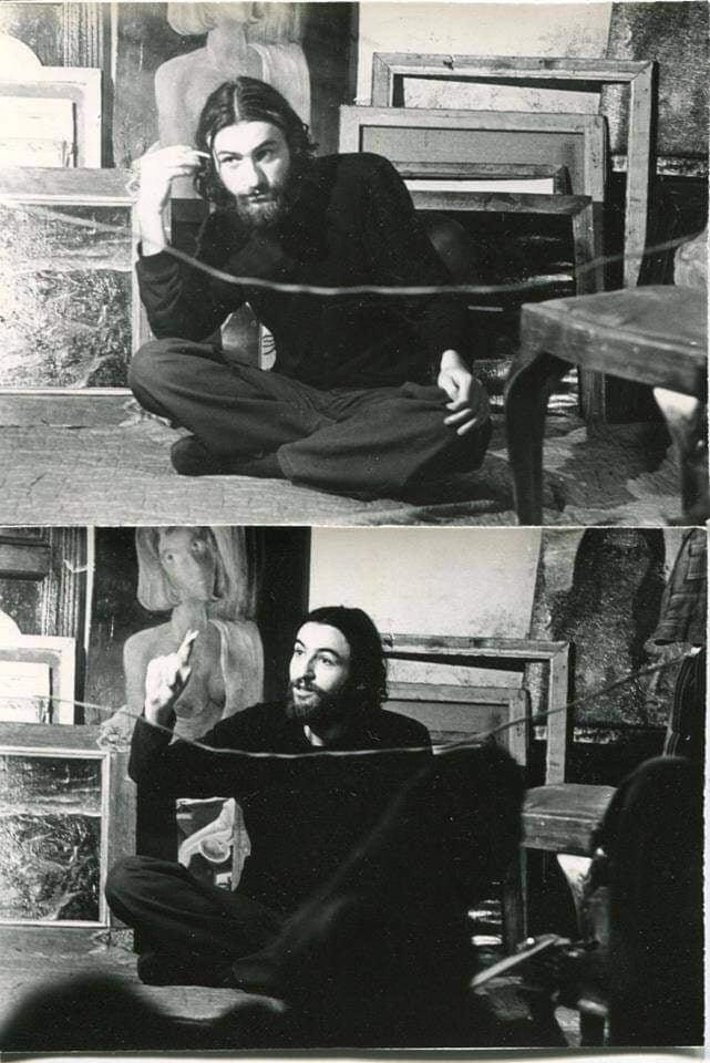 Фотопортрети Октая. 1974 р. Автор Григорій Порицький.
