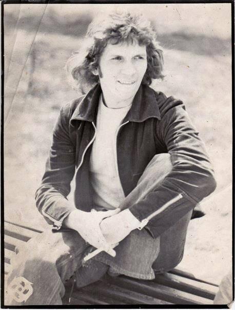 Орест Макота. 1976 р. Фото Григорія Порицького.