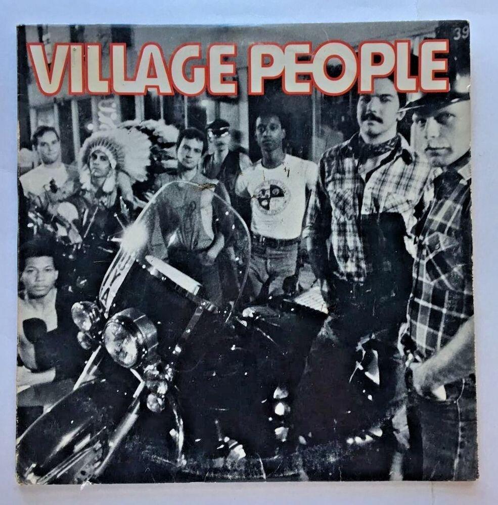 Обкладинка дебютного альбому Village People (1977)