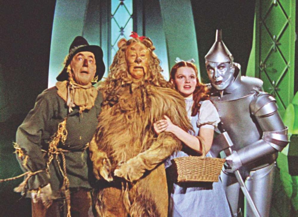 Кадр з фільму «Чарівник країни Оз» (1939)