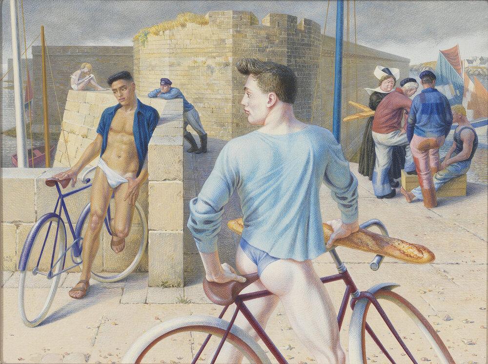 Пол Кадмус «Фіністер» (1952)