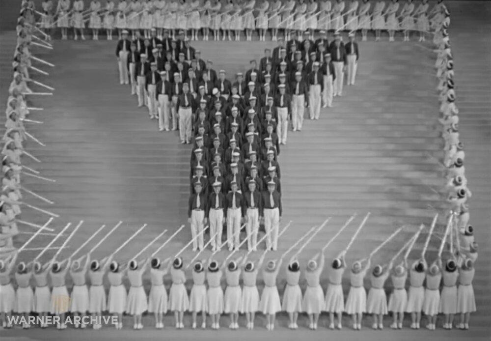 Кадри з фільмів  « Студентська вистава» (1937)