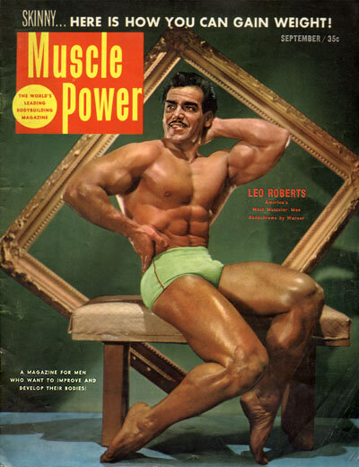 Обкладинки журналів Muscle Power