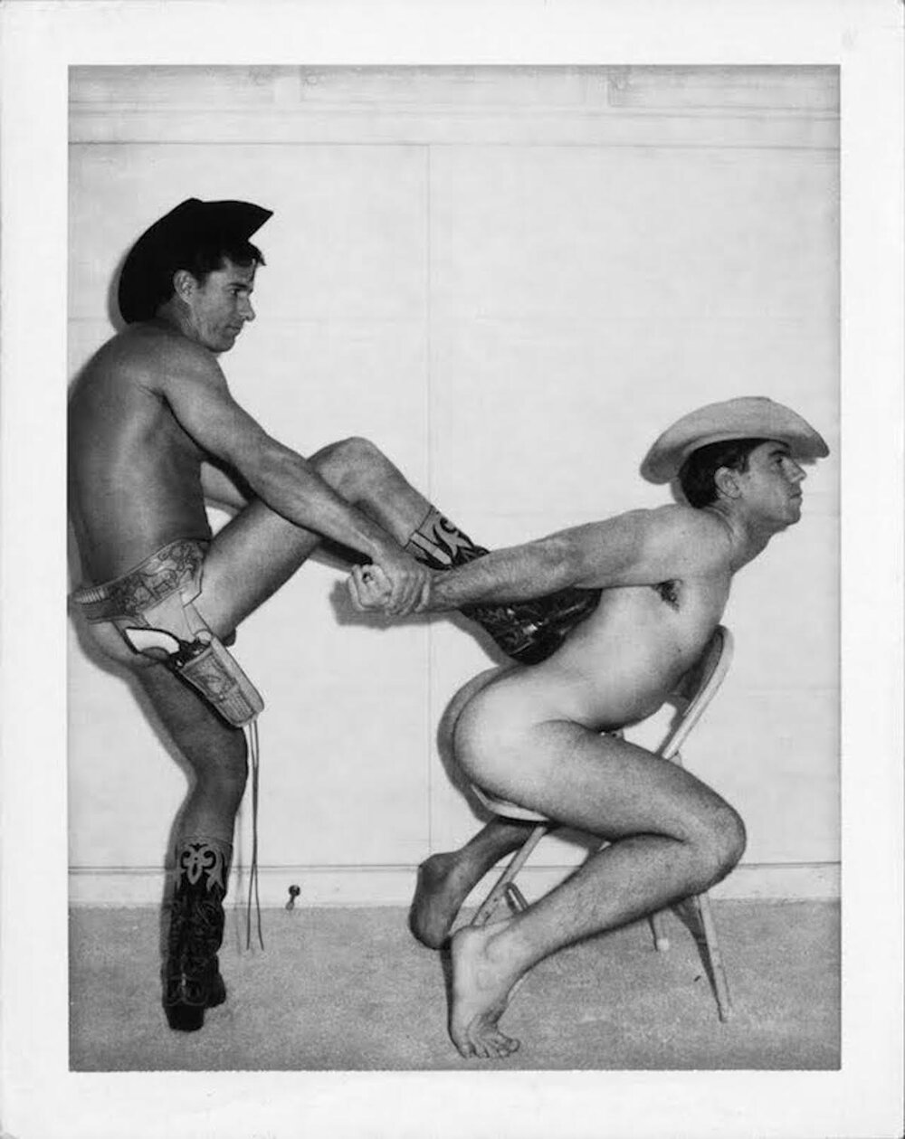 Джим Френч  « Без назви» (Ковбої, 1967-9)