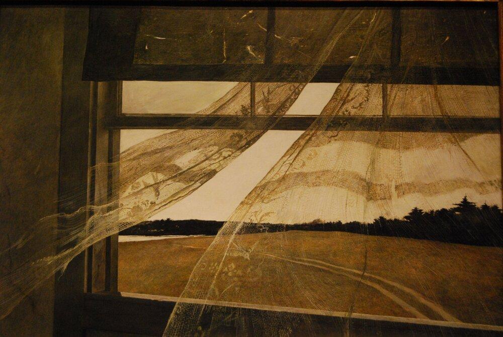 Ендрю Ваєт, «Вітер з моря», 1947