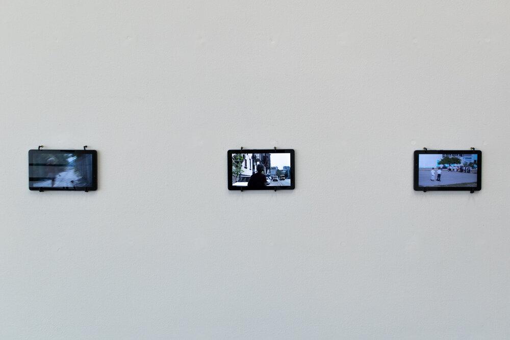 Вид експозиції «Прогулянки» Катерини Берлової. Фото: Роман Скрипник та Катя Старокольцева-Скрипник