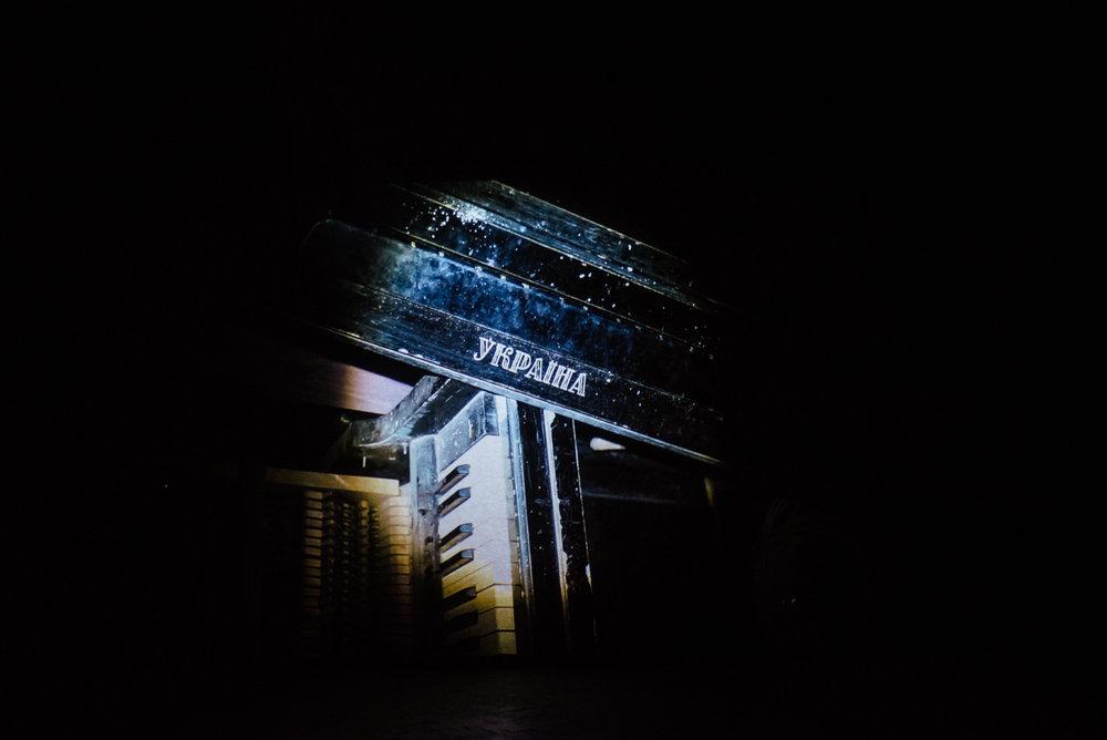 Експозиція виставки Антона Саєнко «Смуга» (Closer). Авторка світлини: Наталка Дяченко. Надано Closer