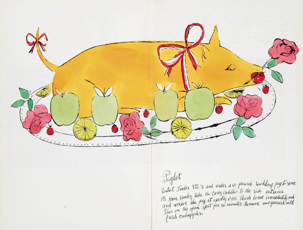 Енді Воргол, С'юзі Франкфур, W ild Raspberries, сторінка з книжки, 1959