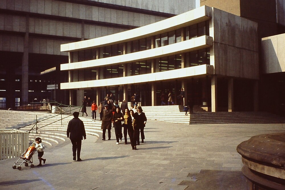 Birmingham Central Library in 1970s Image by Mark Warrick. License: CC BY-SA 2.0