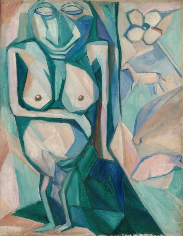 Наталія Гончарова. «Божество родючості». 1909-1910, Державна Третьяковська галерея