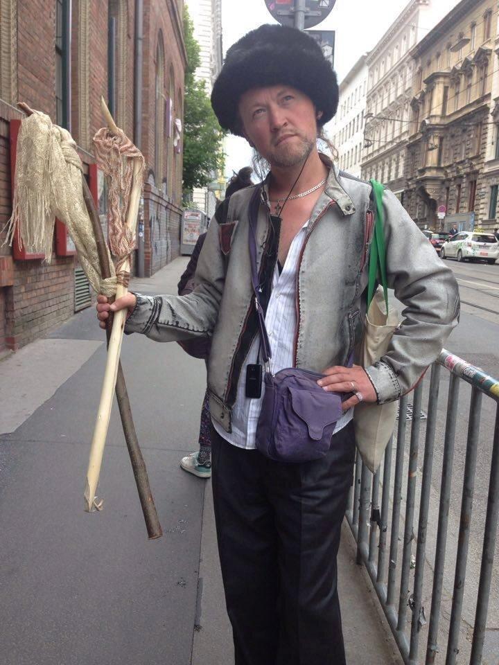 Михаїл Коптєв у Відні. Світлина: Іра Новікова