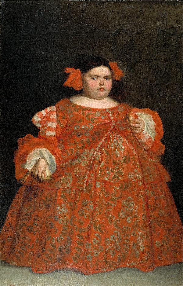 Хуан Карреньо де Міранда, «Портрет Еухенії Мартінес Вал'єхо», 1680