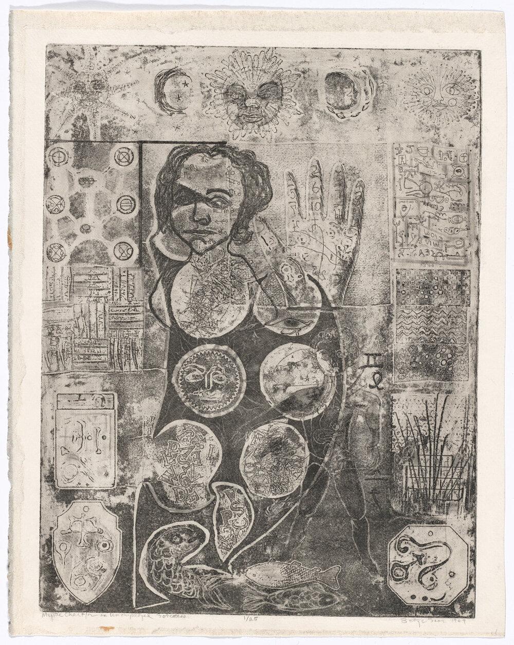 «Містична карта для безробітньої чарівниці», Бетти Саар, 1964