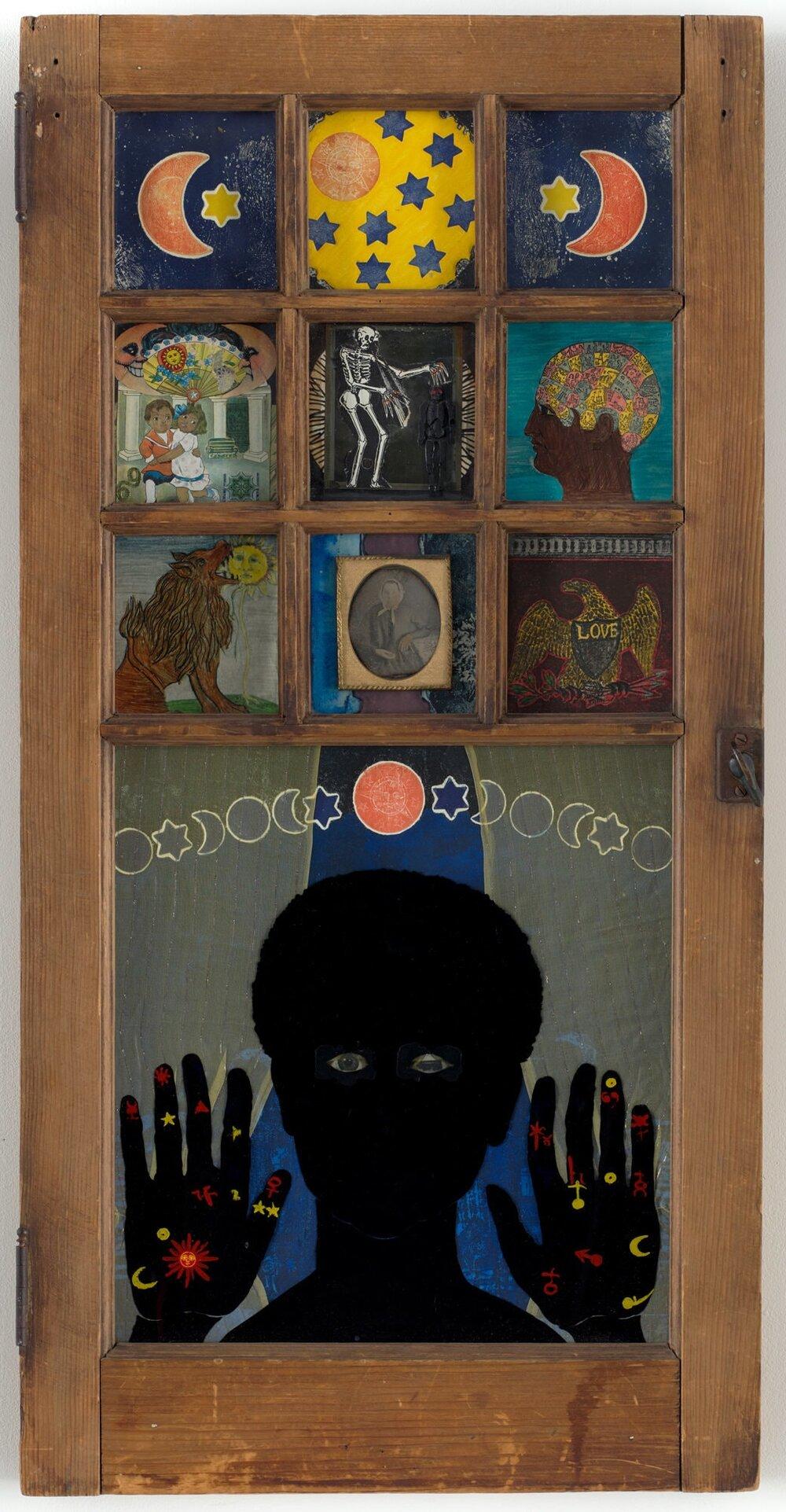 «Окно черной девочки», Бетти Саар, 1969, МоМА