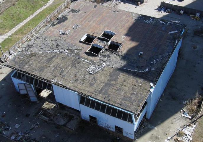 Фото: Wikimapia. Будівля ФОК до демонтажу.