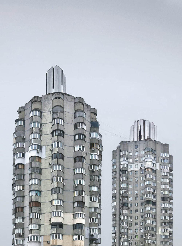На початку 1980-х років житлові квартали в Оболонському, Київ