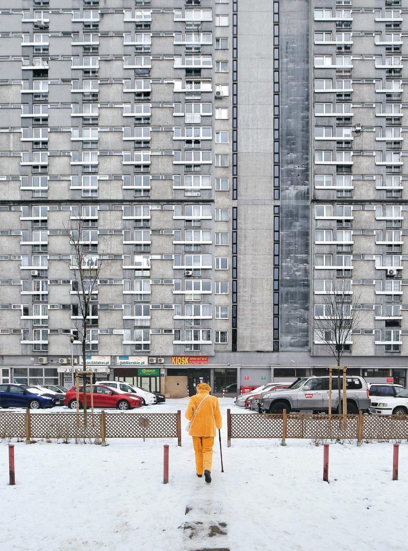 Za Żelazną Bramą in Śródmieście, найбільший житловий комплекс Варшави