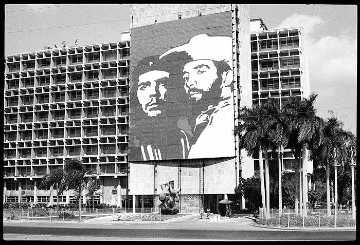 Світлина: Getty Images. Марта Рослер, Площа революції, Гавана, 1981.