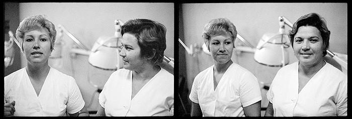 Світлина: Getty Images. Марта Рослер, перукарня «Елла», 1981.